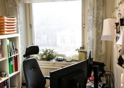 Arbetsplats 2 i rum 1