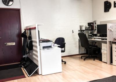 Stora rummet (arbetsplats 1, 2 och 3)